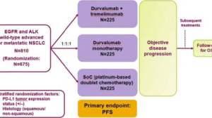 快讯:PD-L1抗体Imfinzi组合疗法一线用于肺癌,失败了???